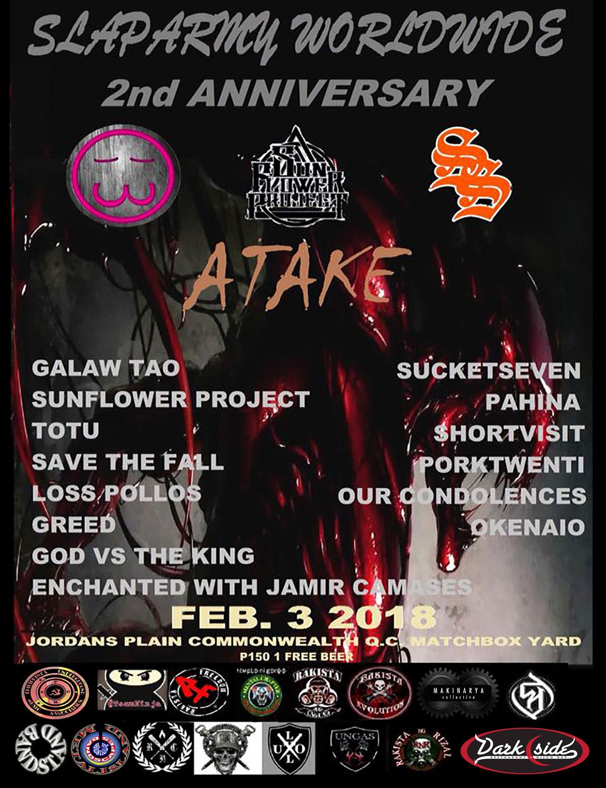 "Slaparmy Worldwide 2nd Anniversary ""ATAKE"""