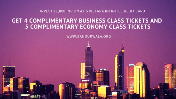 invest 11,800 INR, Get 4 Business Class Flight Tickets in India