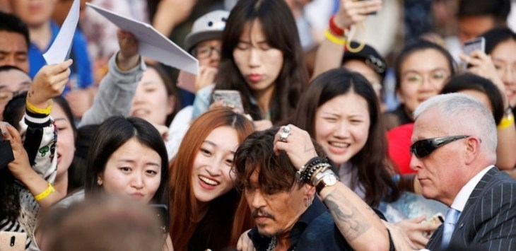 Johnny Depp. Foto: Malay Mail Online