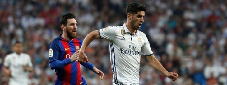 Asensio-Messi. Foto: Angel Martinez/Real Madrid via Getty Images