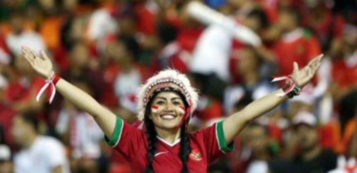 Suporter Timnas Indonesia
