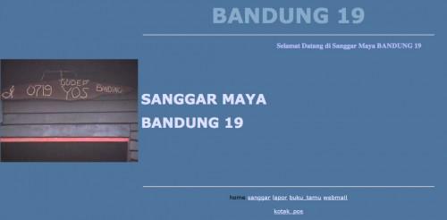 Wajah Website Pertama Bandung 19