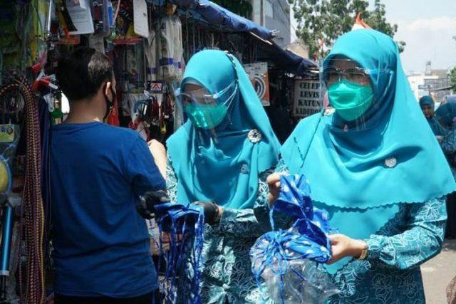 Kesadaran Warga Kota Bandung Bermasker Masih Minim
