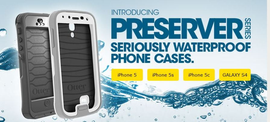 new concept baf93 98849 New Waterproof Preserver Series available at OtterBox.com! - Bane Tech