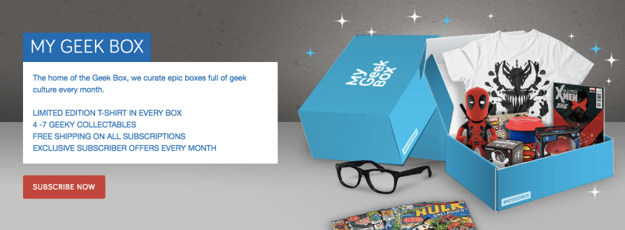 free gifts geek box