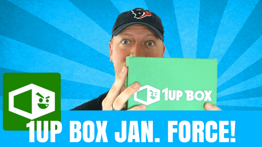 1Up Box January unboxing