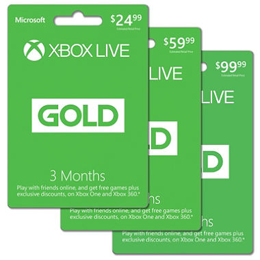 XBox Live GOLD deal