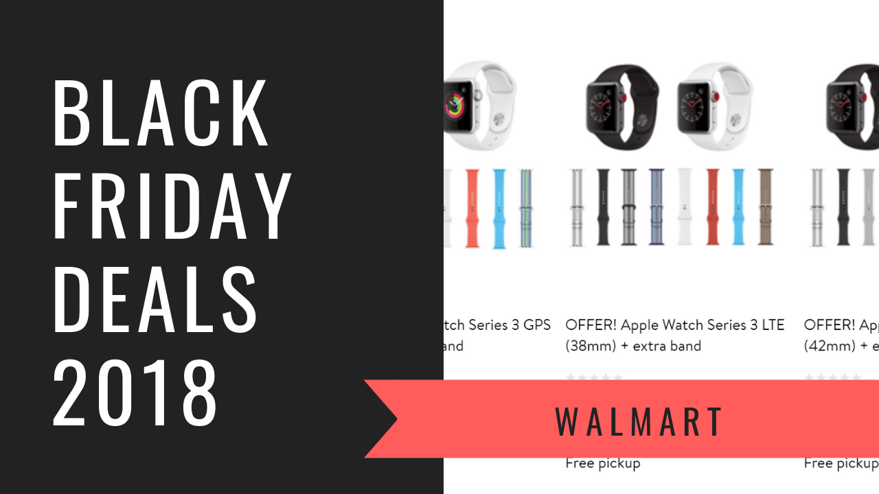Black Friday Deals 2018 Save Up To 27 Off The Apple Watch Series 3 Bane Tech