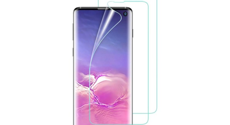 Samsung ships Galaxy S10s with pre-installed screen protectors