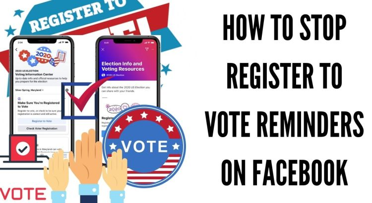 Turn Off Voting Registration Reminders