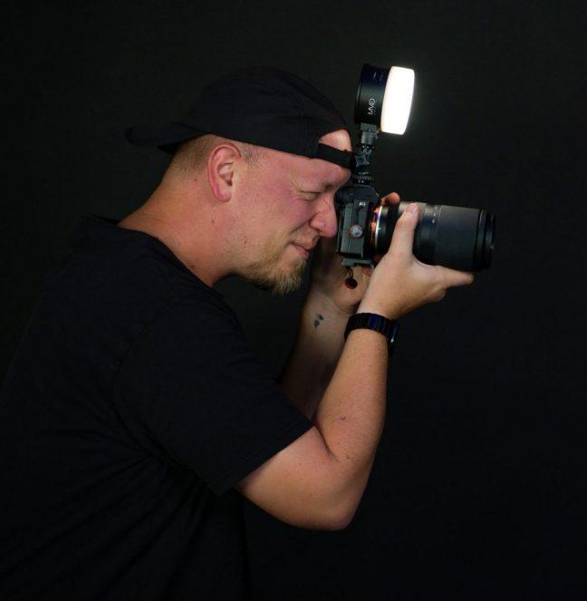 on camera led light
