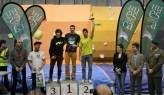 Copeticón de Escalada en Bloque_Podium masculino (de izquierda a derecha) - Alfonso Arce (3), Cristian Gutiérrez (1), Dani Moreno (2)