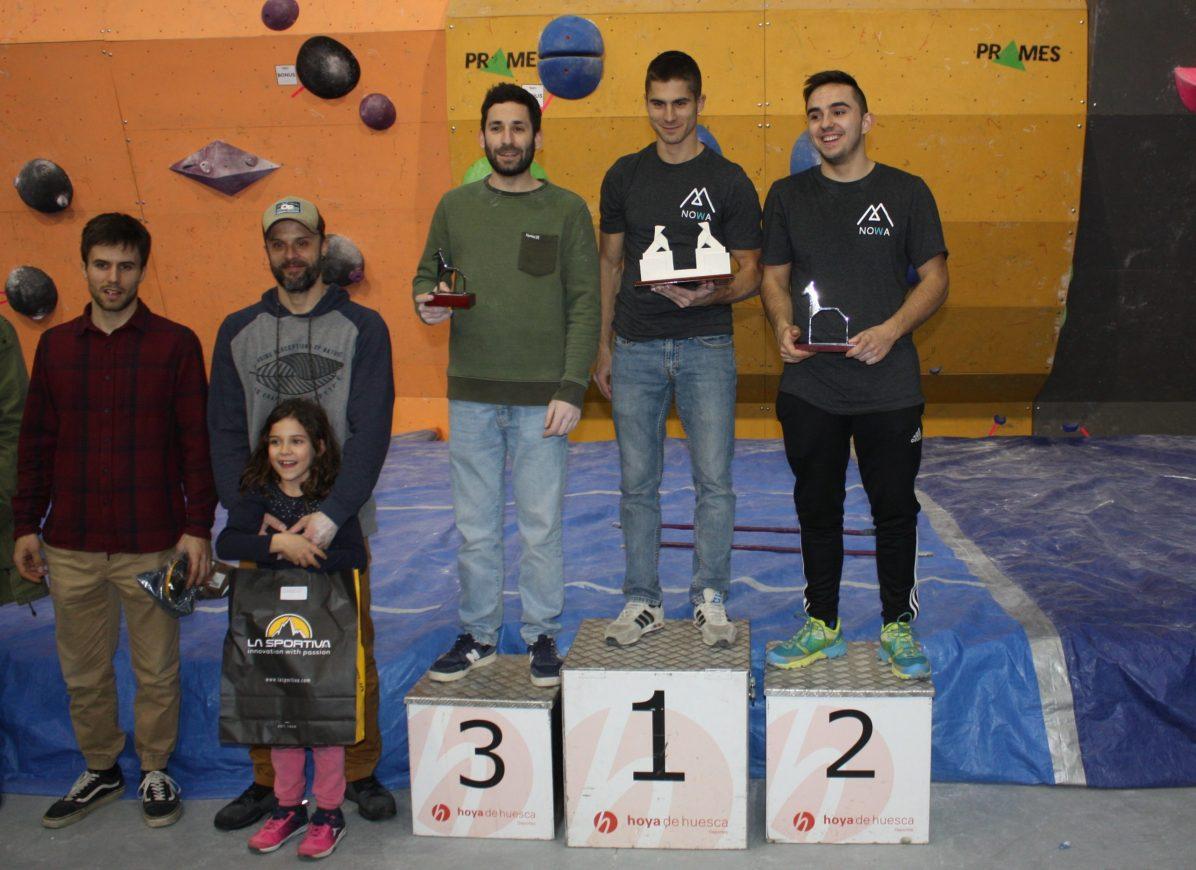 Mario Martínez (5), Javier Fernández (4), Eduardo Langa (3), Daniel Moreno (1) y Enrique Beltrán (2)