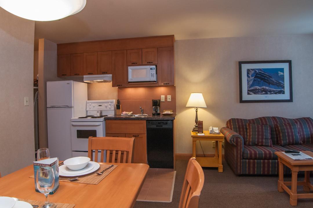deluxe one bedroom condo - hidden ridge resort - banff condo