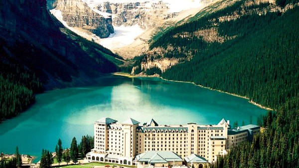 Image result for fairmont lake louise