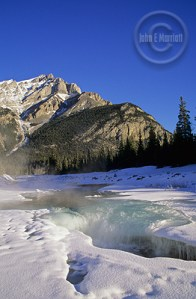 Cascade Mountain and Forty Mile Creek, Banff National Park, Alberta, Canada