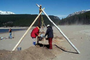 Archeology in the Canadian Rockies, Banff National Park