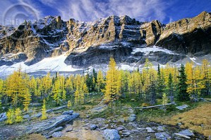 Yoho National Park outside Golden, British Columbia