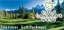 Let Golf Canada's West provide everything for your Canadian Rockies golfing getaway.