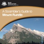 Scrambling Mt Rundle English