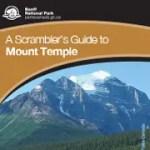 Scrambling Mt Temple English