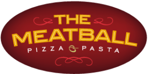 Meatball Pizza and Pasta Logo