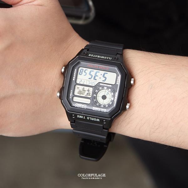 casio膠錶