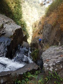Knotty Canyon Canoyoneering in Wayanad Kerala (4)