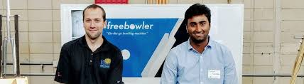 cost-effective ball thrower from Bengaluru boy Pratheek Palanethra