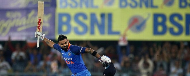 Kohli is just 81 runs away from reaching 10,000 ODI runs.