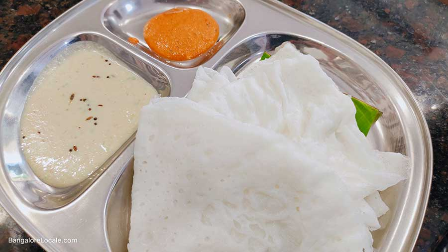 Neer Dosa - Tarayi Coastal Cuisine