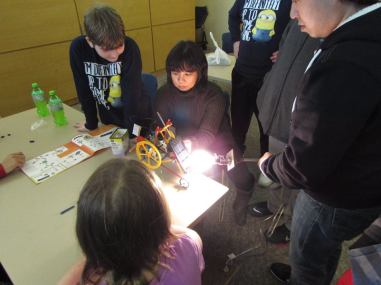we used a 100 watt light bulb