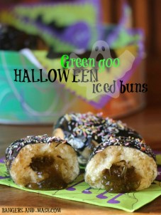 11. Green Goo Iced Buns