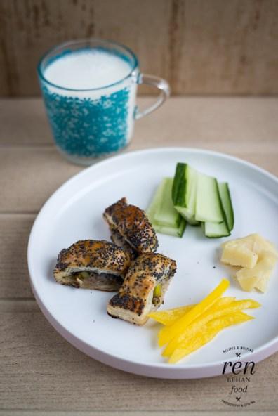 1. Make-ahead Leek & Poppy Seed Sausage Rolls