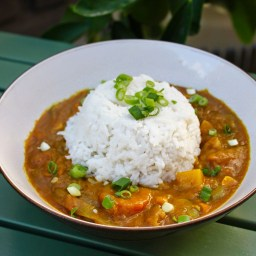1. Vegetarian Japanese Curry