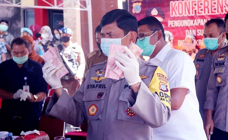 Pembobol ATM Diringkus Jatanras Ditreskrimum Polda Sulteng