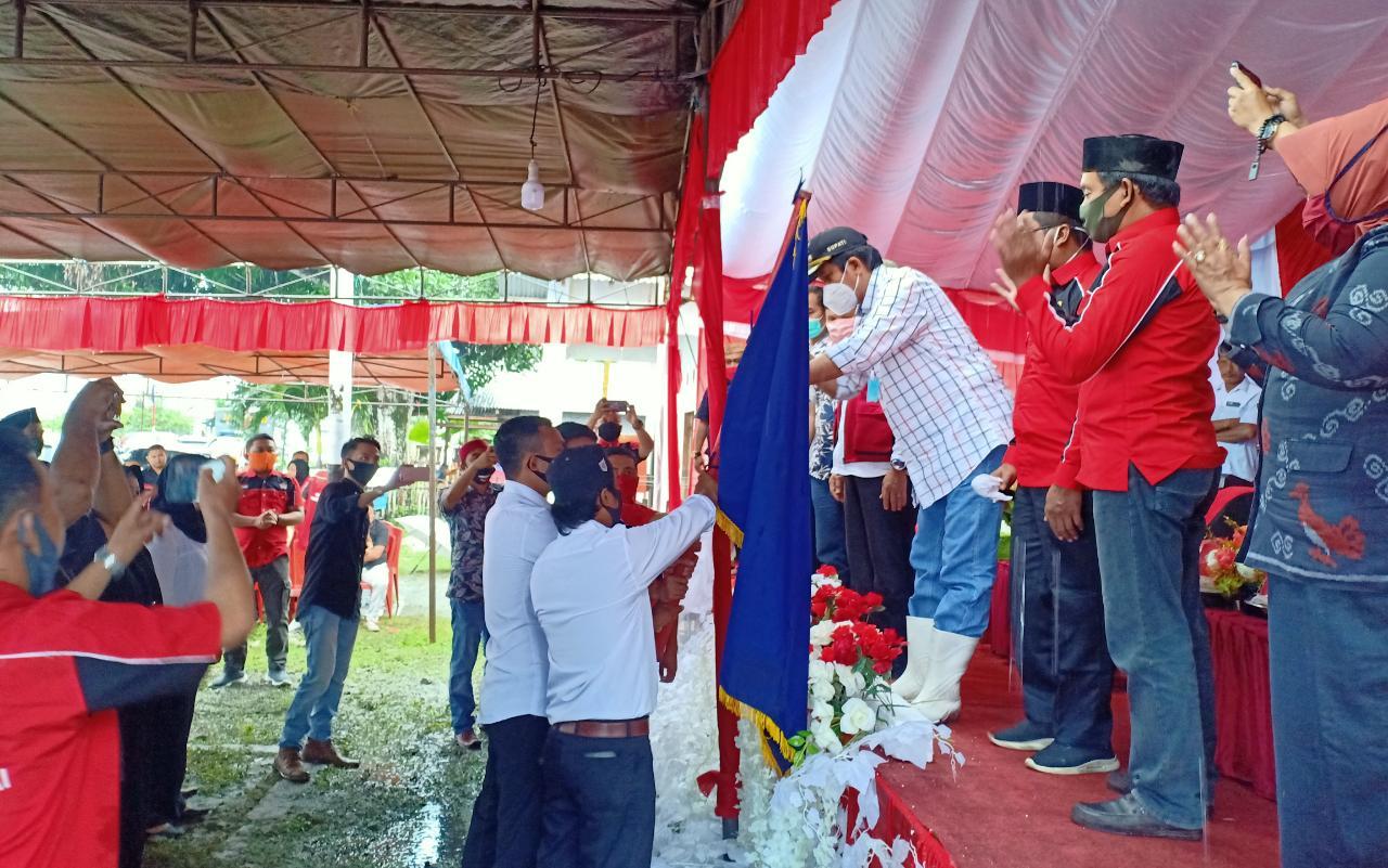Pembina Umum Karang Taruna Kabupaten Banggai Kukuhkan Pengurus KT Se-Kecamatan Nambo