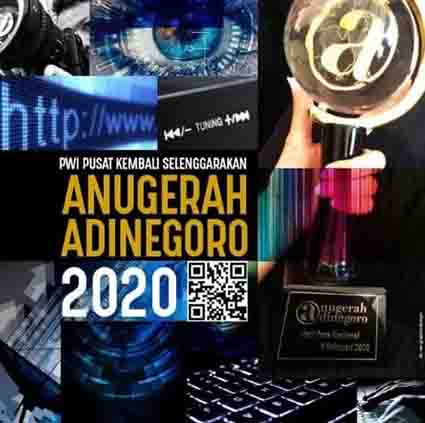 Jelang HPN 2021, Pemenang Anugerah Jurnalistik Adinegoro 2020 Segera Diumumkan