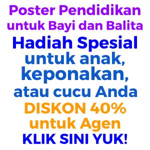 poster pendidikan anak balita