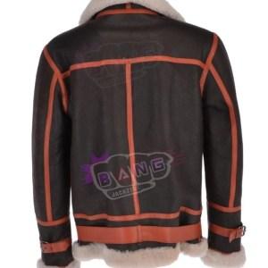 Buy Men's Aviation Winter Shearling Stylish Leather Jacket