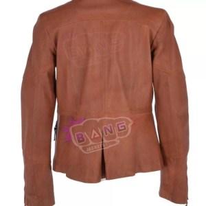 Get Womens Irresistibly Stylish Freedom Leather Jacket