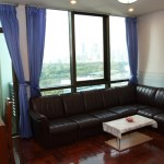 Lumpini Park View – studio apartment for rent near Lumpini MRT, 19k