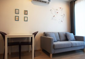 Ideo Sathorn Thapra – 1BR condo for rent near Phonimit BTS, 14k