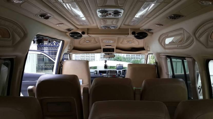 Limousine interiour