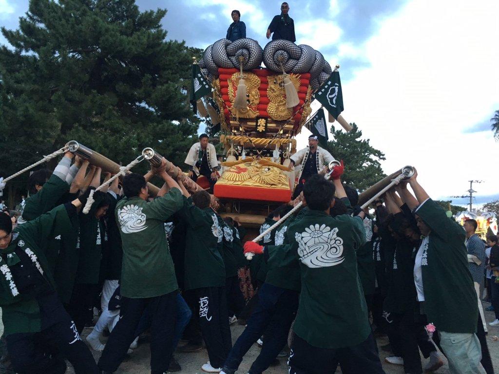 Chosa festival Kanonji