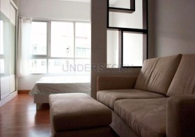 Ivy River Ratburana – riverside studio condo for rent, 11k