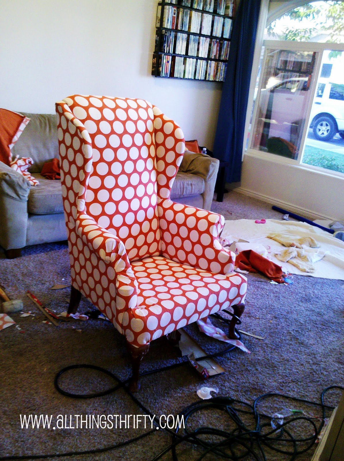 How To Reupholster A Wingback Chair Bangkokfoodietour Com