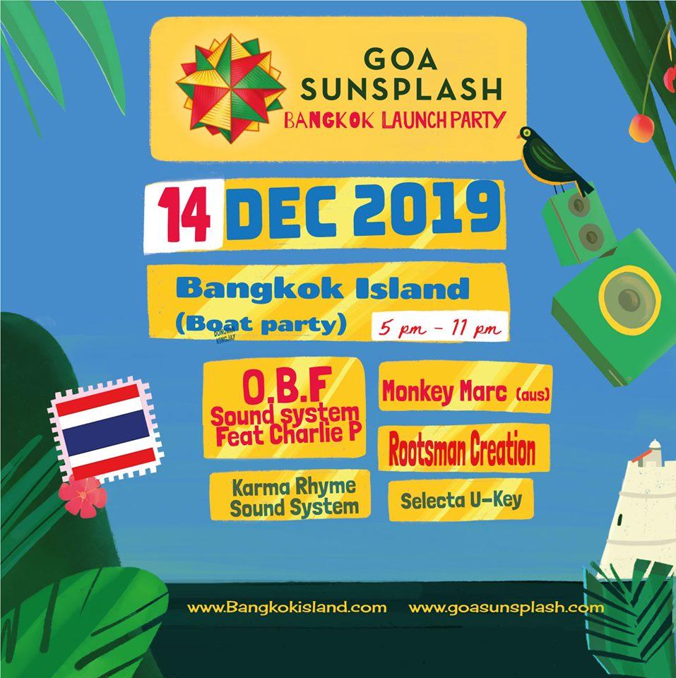 Goa Sunsplash Pre-Party : Bangkok