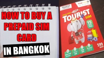 [Tourist sim Thailand] How to buy a prepaid Thai sim card in Bangkok?