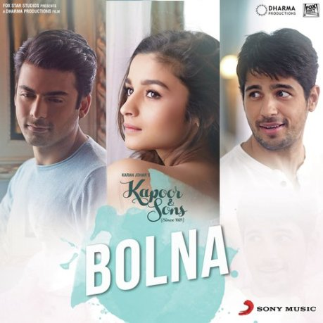 Bolna Full Lyrics Song – Kapoor And Sons - Arijit Singh